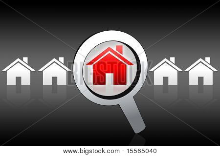 House Buying Searching Concept