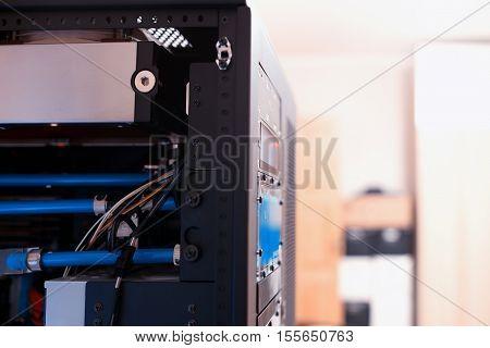Inside high performance workstation computer background hd