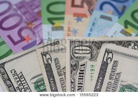 欧元和美元