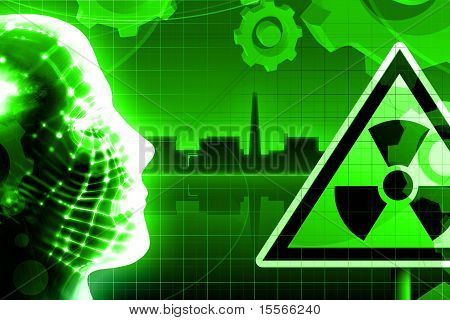 Green Radioactivity Nuclear Power Plant