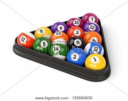 Pool Balls Triangle
