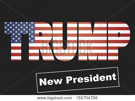 Donald Trump New President Of Usa