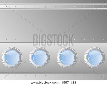 Background In Submarine