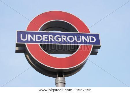Sinal de Metro de Londres