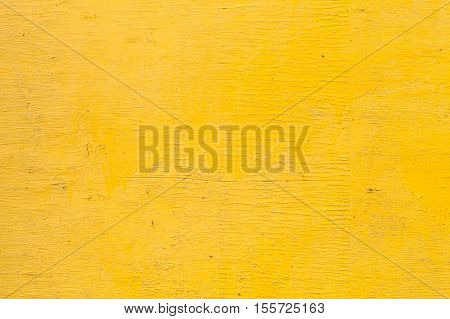 Bright Yellow Wooden Wall Texture