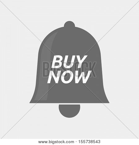 Isolated Bell Icon With    The Text Buy Now