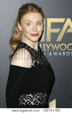 LOS ANGELES - NOV 6:  Bryce Dallas Howard at the 20th Annual Hollywood Film Awards  at Beverly Hilton Hotel on November 6, 2016 in Beverly Hills, CA