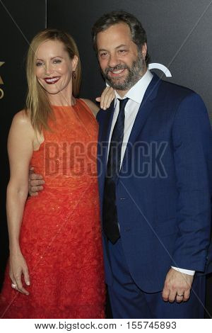 LOS ANGELES - NOV 6:  Leslie Mann, Judd Apatow at the 20th Annual Hollywood Film Awards  at Beverly Hilton Hotel on November 6, 2016 in Beverly Hills, CA