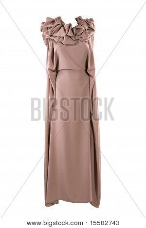 Beige Designer Dress