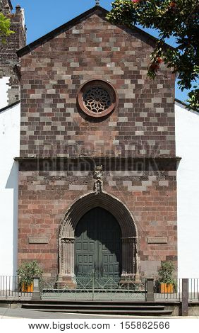 The Cathedral of Our Lady of the Assumption in Funchal Madeira island Portugal