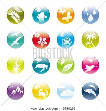 Natur & Eco-iconset