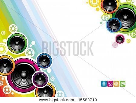 Loudspeakers background