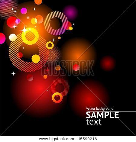 Vector Abstract glitzernde Hintergrund