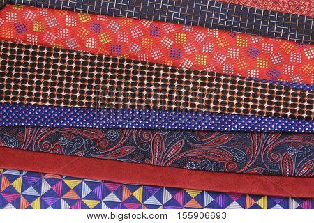 Plenty Of Colorful Neckties