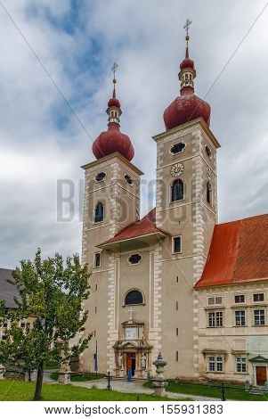 St. Lambrecht's Abbey is a Benedictine monastery in Styria Austria. The Gothic abbey church