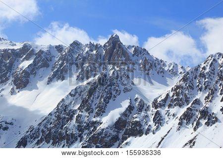 European Alps Winter