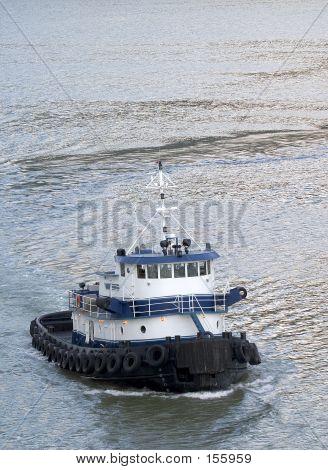 Alaskan Tugboat