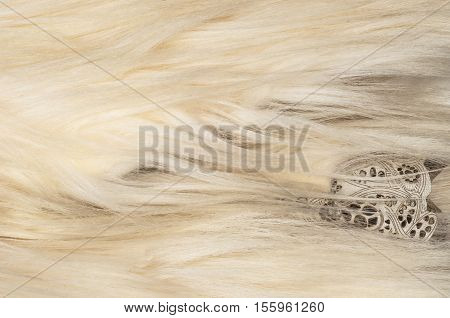 Yak Fur. The Yak (bos Grunniens And Bos Mutus)