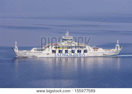 Ferry Boat Brac On Regular Route