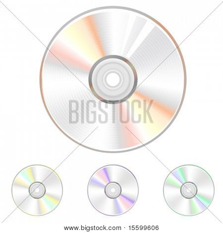 vector cd illustration