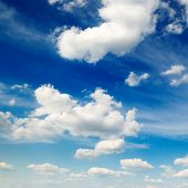 Постер, плакат: облачное небо