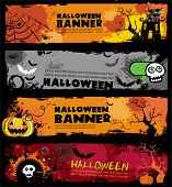 Halloween banners.  To see similar, please VISIT MY GALLERY.