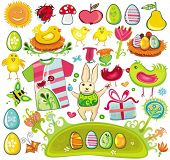 foto of ester  - Huge set of Ester design elements and icons. To see similar, please VISIT MY GALLERY.