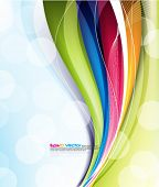 foto of brochure design  - eps10 vector design - JPG