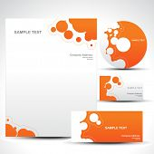 foto of web template  - vector style template art illustration - JPG