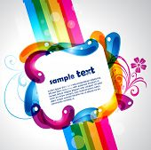 colorful eps10 vector design with space for your text