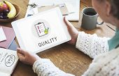 Quality Assurance Clipboard Icon poster