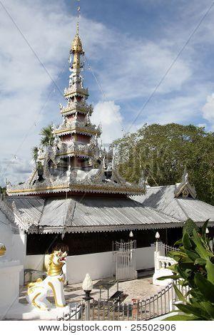 Wat Chong Klang, Mae Hong Son