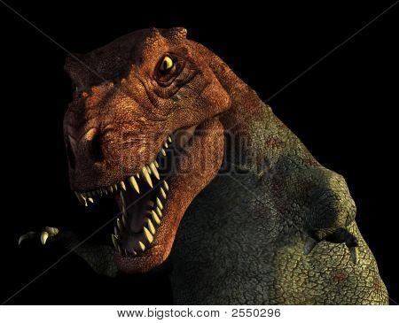 Tyrannosaurus Rex Portrait