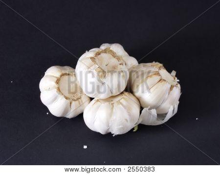 Bulbos de alho 007