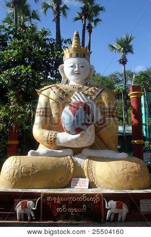 Buddha With Globe