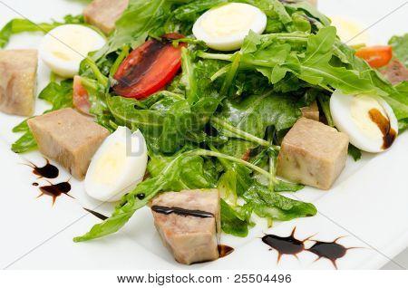 Eggs And Pork Salad