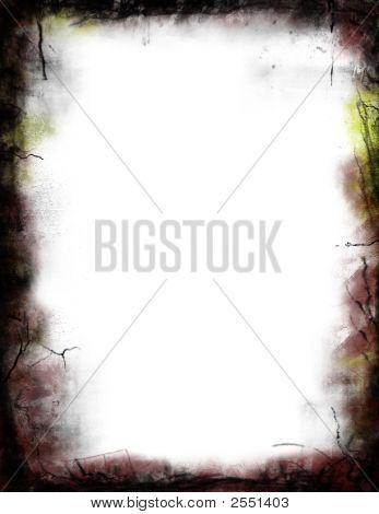 Grunge Border Stationary Background