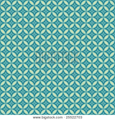 Japanese seamless pattern. Editable colors
