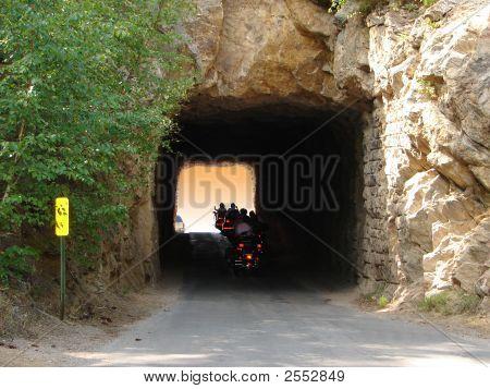 Biker Tunnel Vision