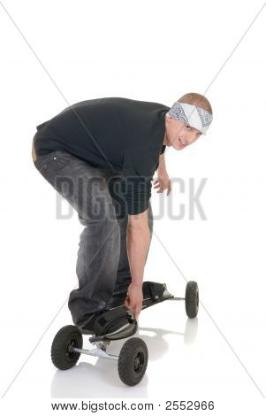 Boy And His Skateboard