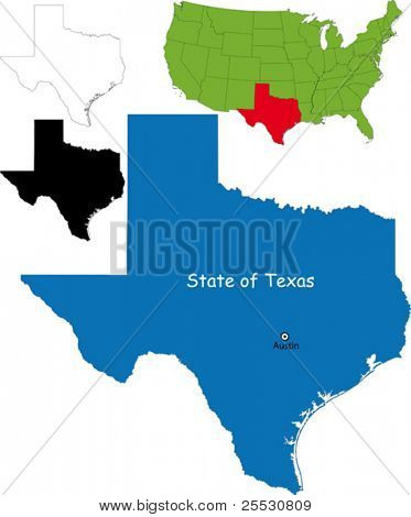 State of Texas, USA