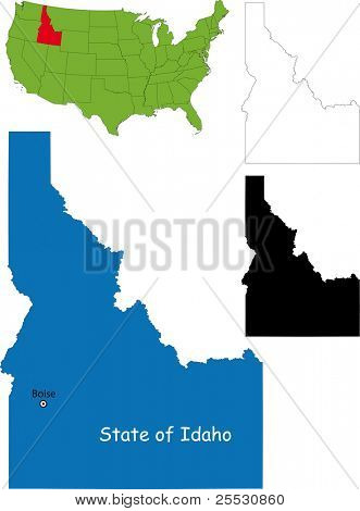 State of Idaho, USA