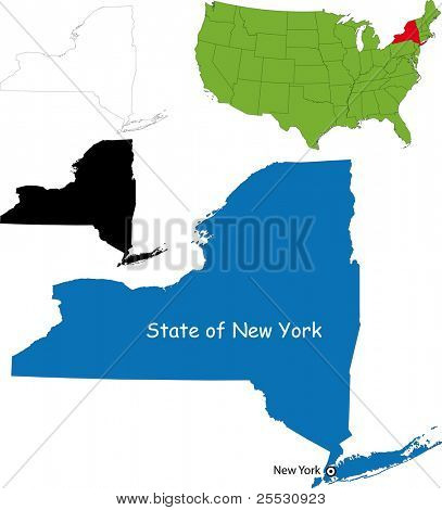 State of New York, USA