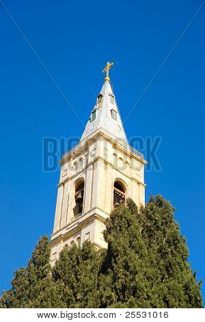 Russian Candle - the highest belfry in Jerusalem