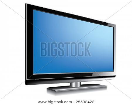 LCD television BLUE