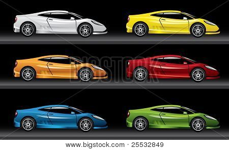 Sport Car illustration - Original design
