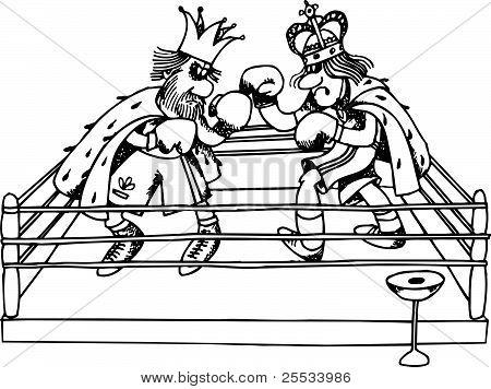 Kings' battle