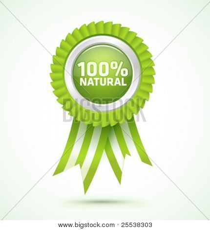 Vector 100% natural award