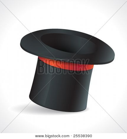 Vector magic hat.
