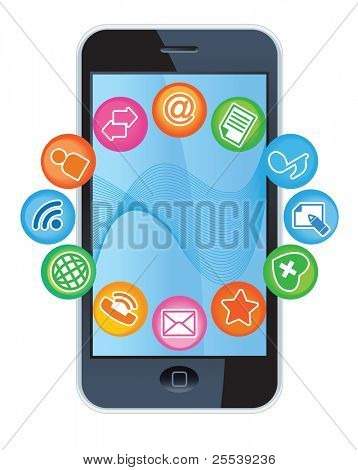 TELEPHONE-MEDIA.Social-Media.The development of global communications